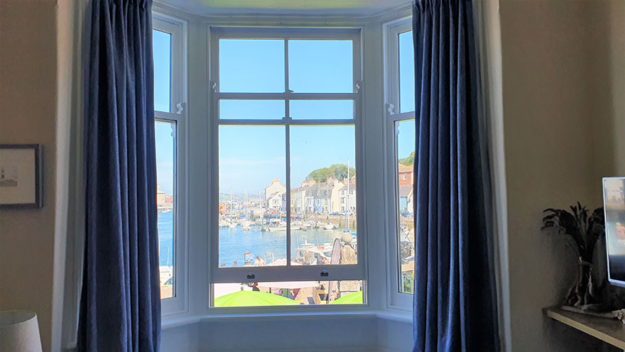 Holiday in Weymouth - View from the Lounge